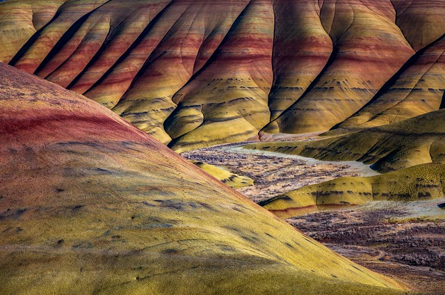 Painted Hills Natural Abstract