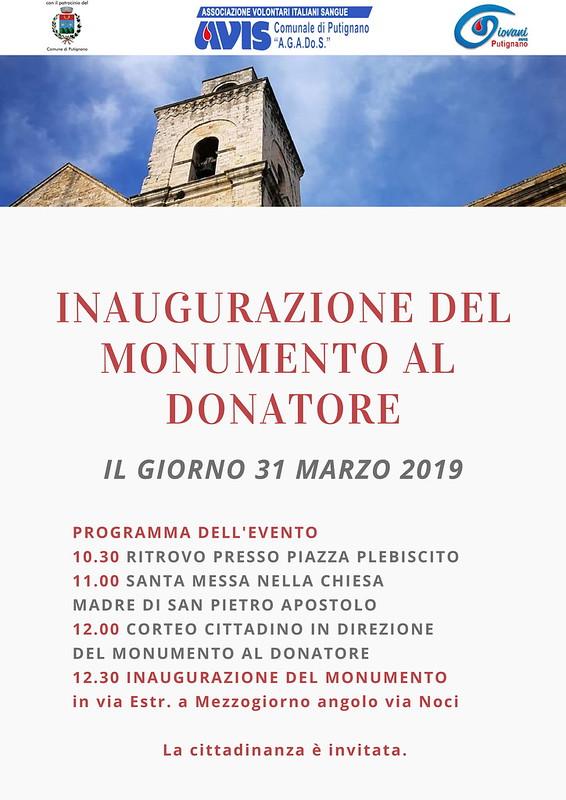 Monumento al Donatore Putignano (2)