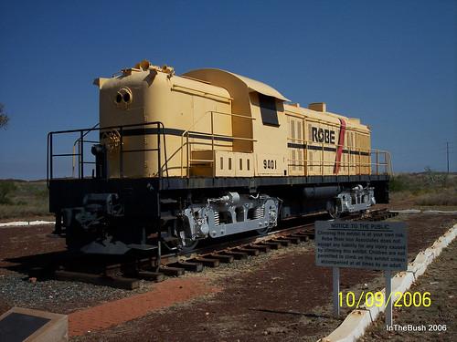 Robe locomotive -  Wickham 2006