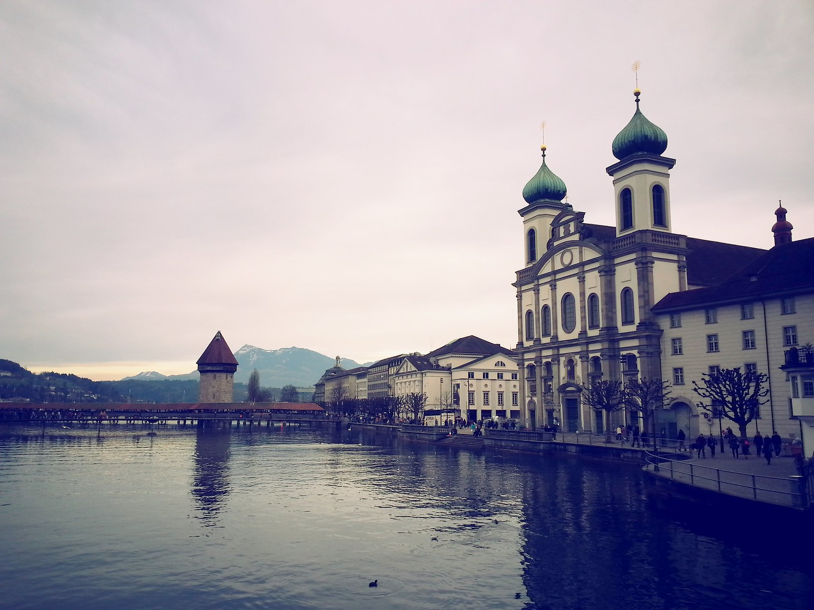 16-01-30 (Lucerne) View of Jesuit Church.
