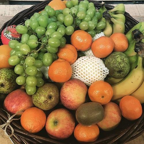 Unser Obstkorb diese Woche mit Apfel