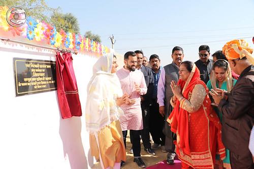 Inauguration of Satsang Bhawan at Balotara