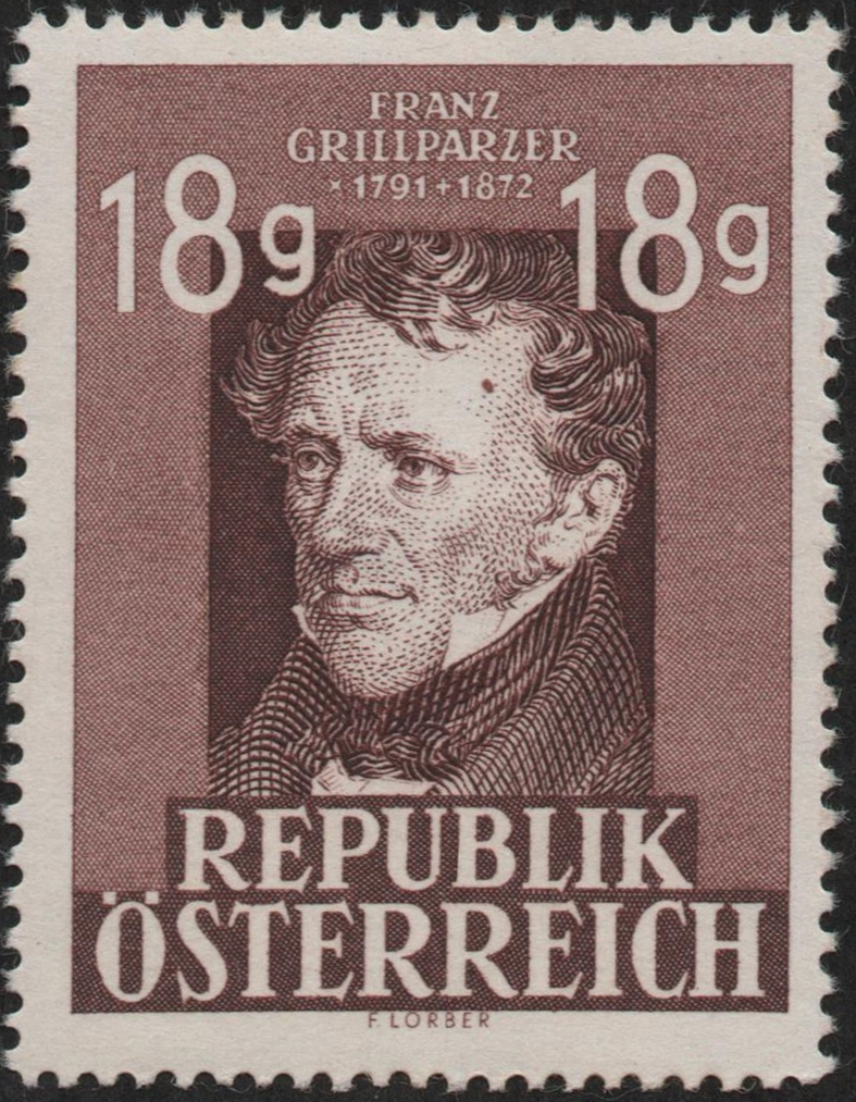 Austria - Scott #489 (1947)