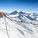 Winter shooting 2013 mit Visage Models - Simone und Harry, foto: Gasteiner Bergbahnen AG, Wolkersdorfer