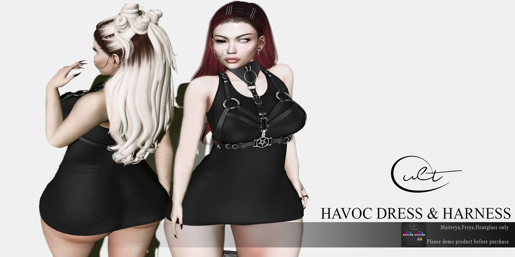 : CULT : HAVOC DRESS WITH HUD N HARNESS