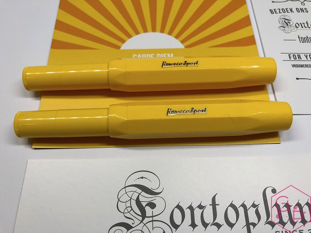 Kaweco Sport Sunrise & Sunset Fountain Pens @Fontoplum0 1