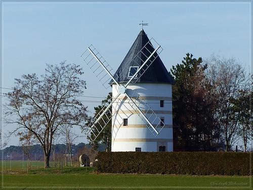 Holländerwindmühle in Schänitz