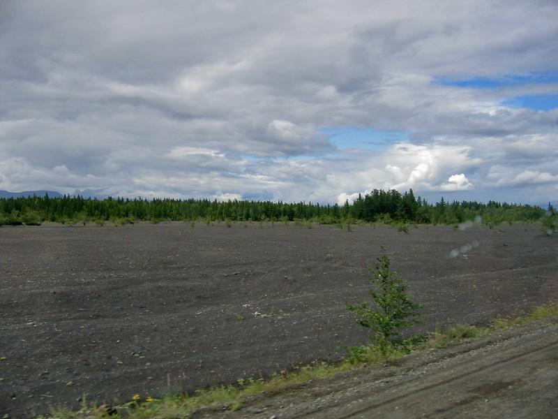 Поля вулканического шлака