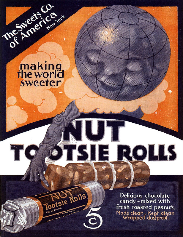 Nut Tootsie Rolls 1920
