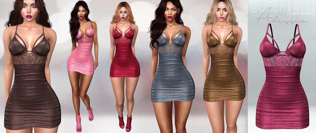L&B@UBER:FEB Swear Alessia Mini Dress - TeleportHub.com Live!