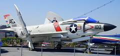 McDonnell (F3H-2N) F-3B Demon , Intrepid Sea, Air and Space Museum, New York.