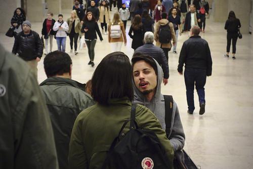 More subway commuting... #commute #subway #lisbon #portugal #street #sonyrx100 #t3mujinpack