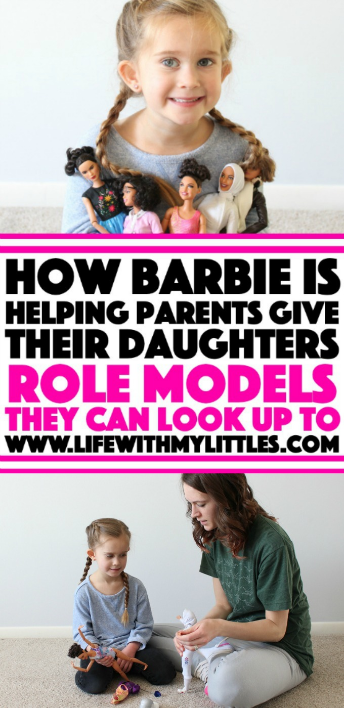 Have you seen the new Inspiring Women and Shero dolls Barbie has come out with in the last few years? Barbie really is doing a great job at helping parents give their daughters real-life role models they can look up to! Read all about it here!