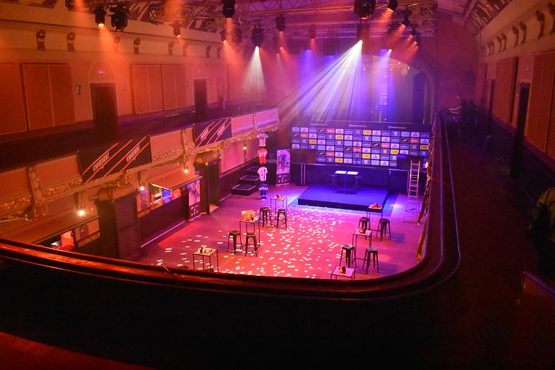 Salón de fiestas en Vooruit