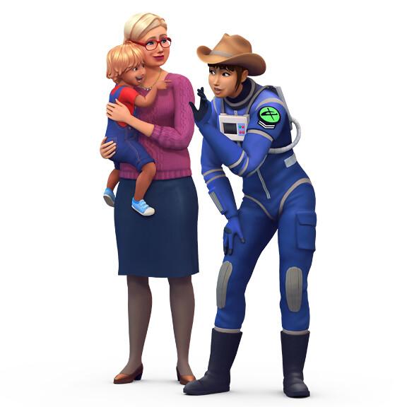 The Sims 4: Novas Renders