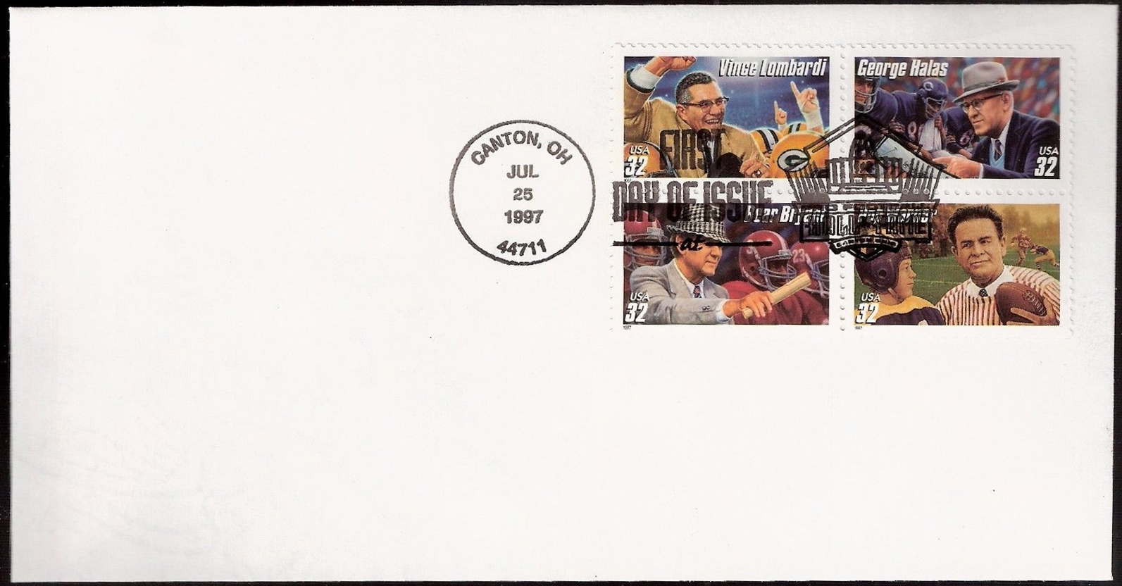 United States - Scott #3146a (1997) first day cover