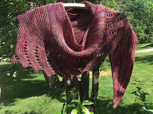 Linda445's Rocky Mountain High knit using Madelinetosh Light