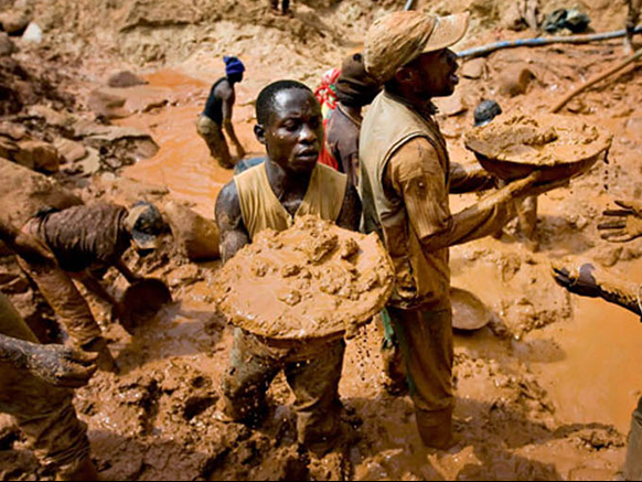 miniere di coltan in congo