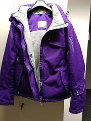 Zimni damska bunda na lyze/snowboard Salomon - titulní fotka