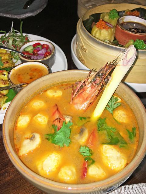 Tom Yum Goong from Bambooda