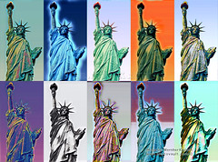 For the Tired Huddled Masses, this monument to freedom stands in Homage to Humanity