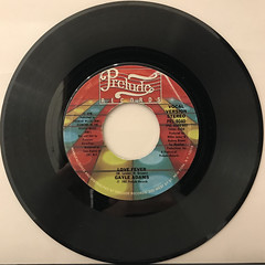 GAYLE ADAMS:LOVE FEVER(RECORD SIDE-A)