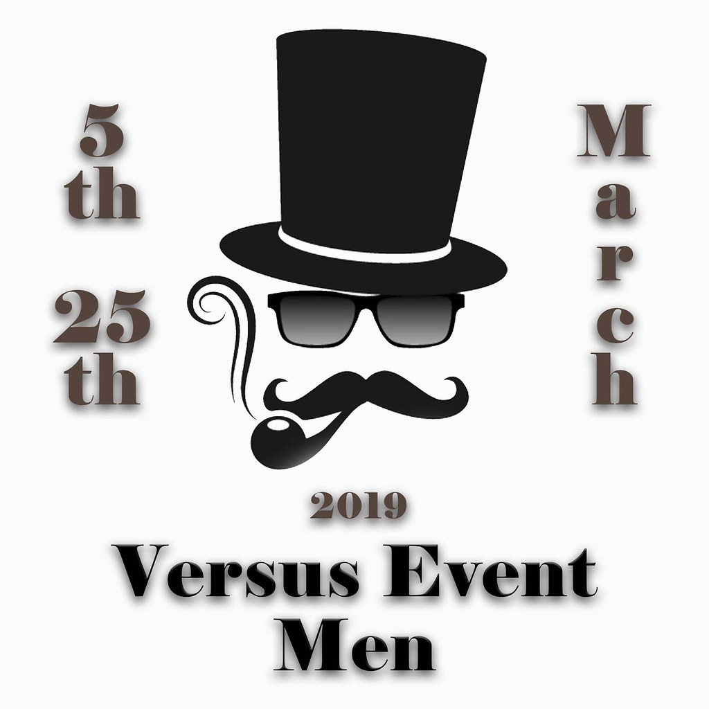 VERSUS EVENT MEN MARCH 2019
