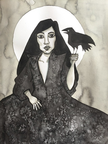 9 - Raven Black - Art Journal