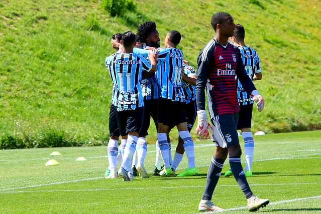 Excursão Grêmio Prato Fino - Europa 2019 - Benfica 0 x 2 Grêmio