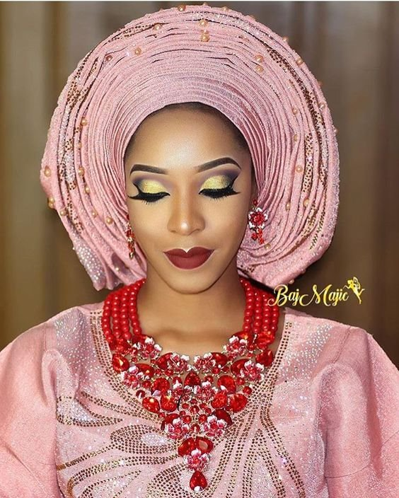 Latest Gele Styles to our traditional weddings 2019