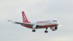 Airbus A320-214 c/n 1390 Atlas Global Ukraine registration UR-AJD