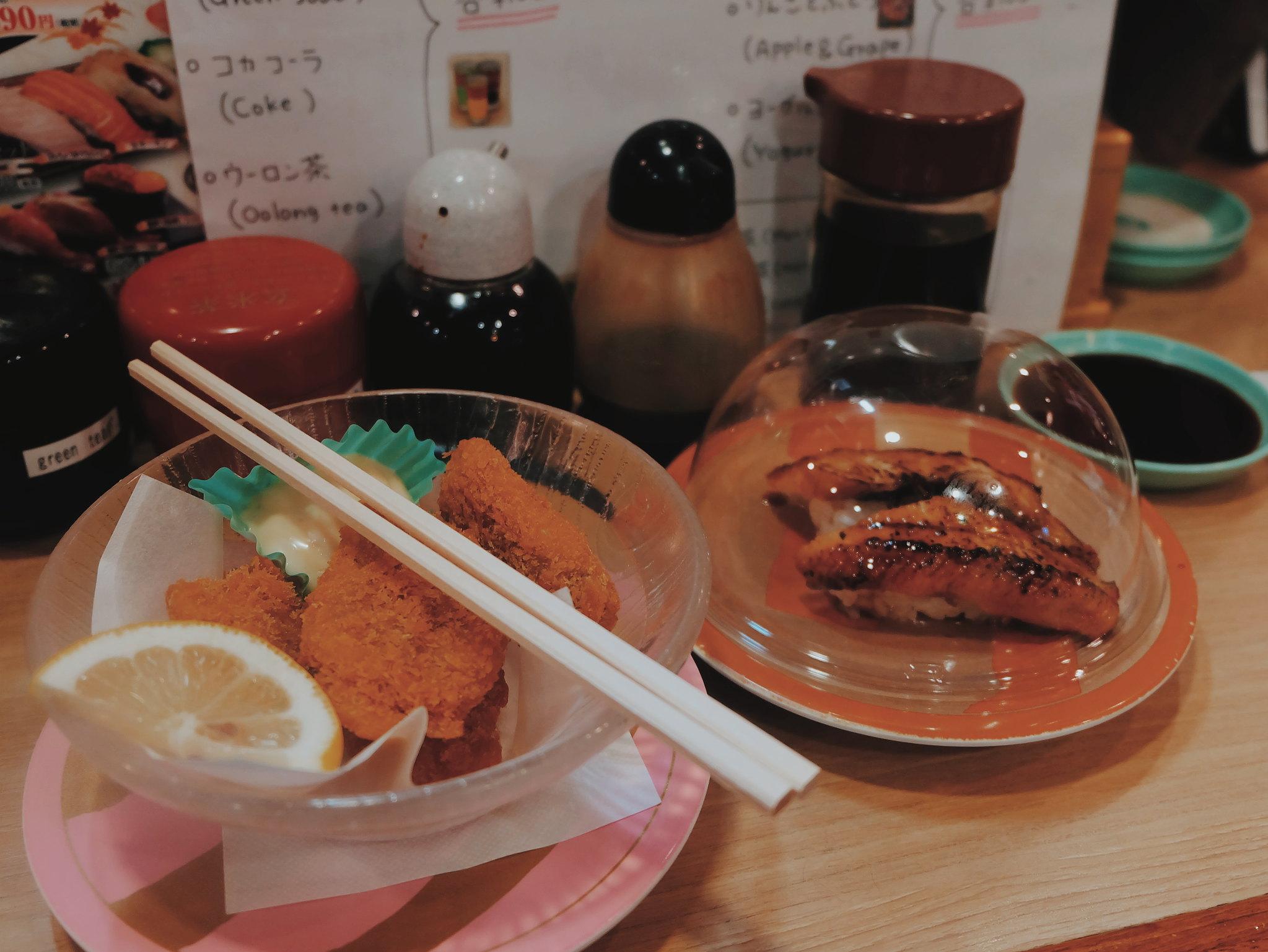 revolving sushi bar tokyo travel guide 2019