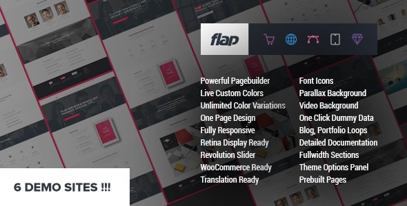 FLAP v1.4 - Business WordPress Theme