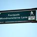 Woodmansterne Lane that way