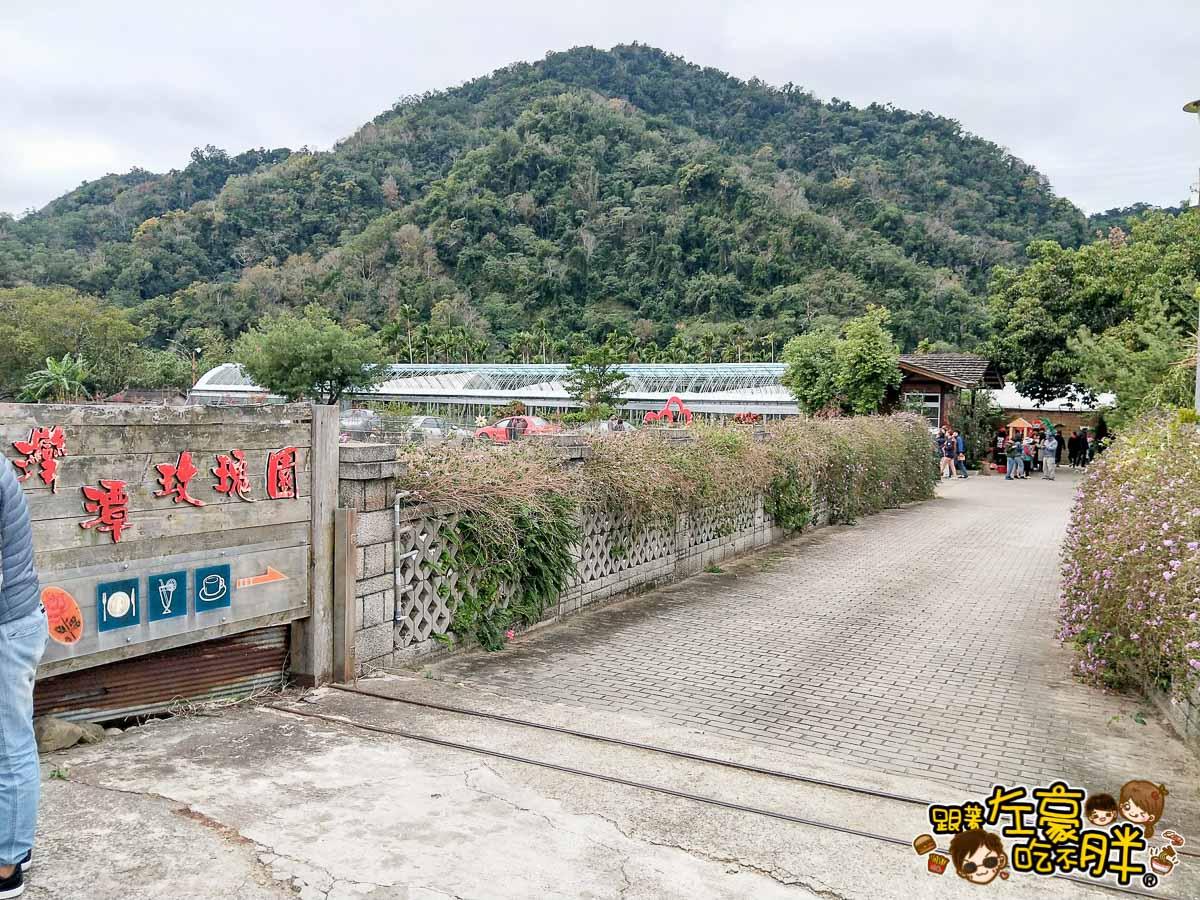 苗栗景點灣潭玫瑰草莓園-11