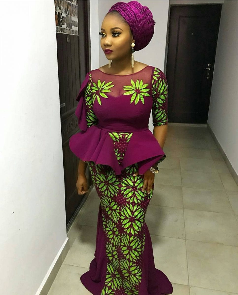 Ankara Styles 2020 SKIRTS AND BLOUSE,GOWNS,JUMPSUITS 4