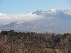 View of mountains at Basse Correo - Photo of Lettret