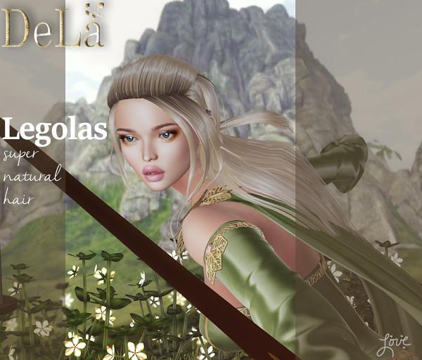 "=DeLa*= new hair ""Leogolas"""