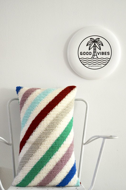 woodwoolstool pillow