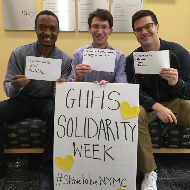 GHHS Solidarity Week