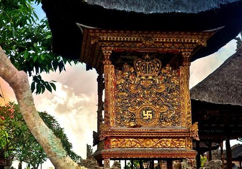 INDONESIEN, Bali , Rund um den Muttertempel  Pura Besakih an der Flanke des Vulkans Agung (3142 m ) , 17971/11198