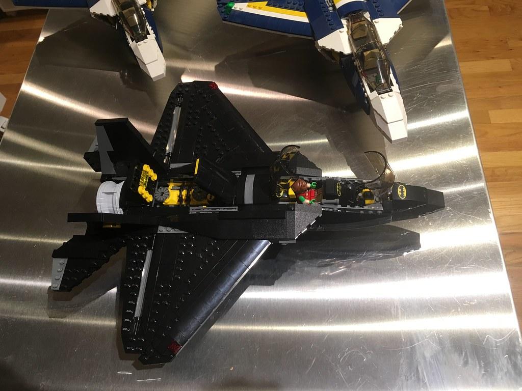 Open bat jet