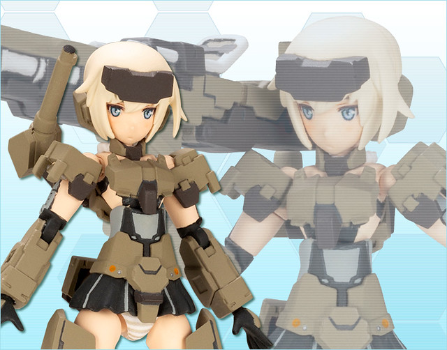 壽屋《Frame Arms Girl 骨裝機娘》HAND SCALE 掌中比例「轟雷」組裝模型|フレームアームズ・ガール ハンドスケール 轟雷