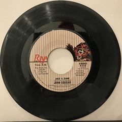 JOHN COUGAR:JACK & DIANE(RECORD SIDE-A)