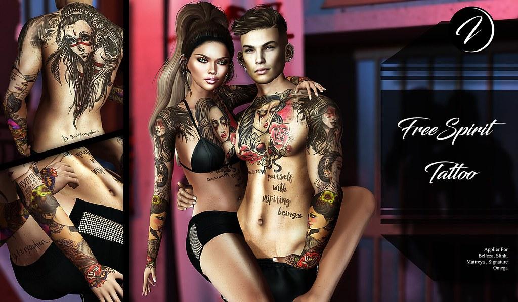 ..:: INKer ::..Freespirit Tattoo - TeleportHub.com Live!