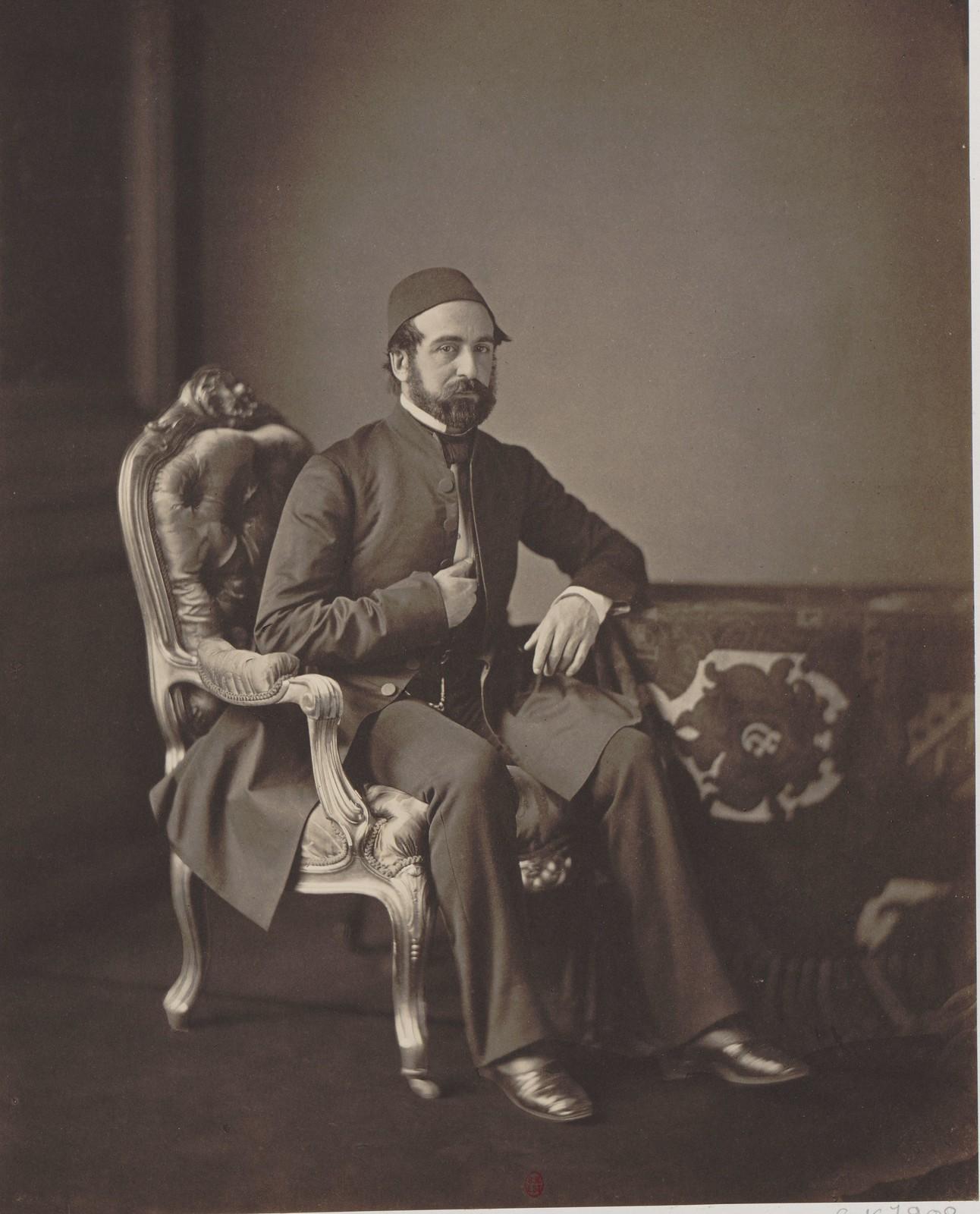 14. Посланник в Париже, второй уполномоченный Османской империи на Конгрессе Мегеммед-Джемиль
