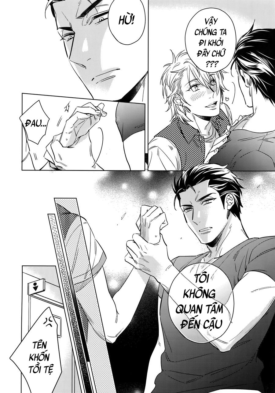 Saitou Kun Và Người Đàn Ông Cao 190cm Chap 1 page 10 - Truyentranhaz.net