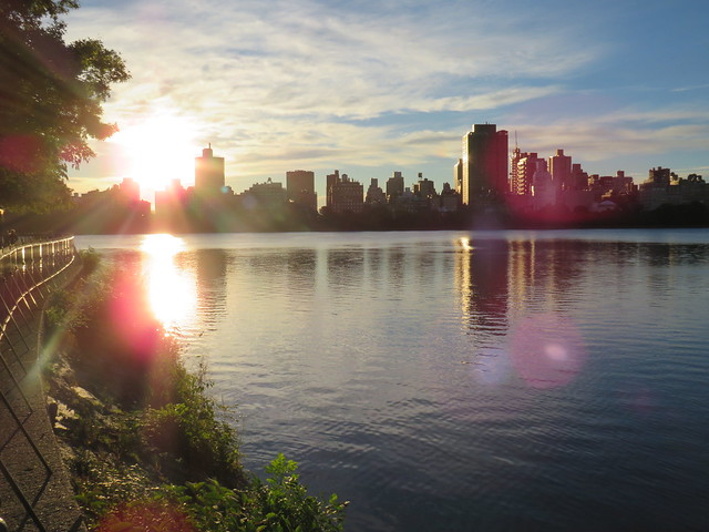 Early Morning Central Park, Canon POWERSHOT SX540 HS