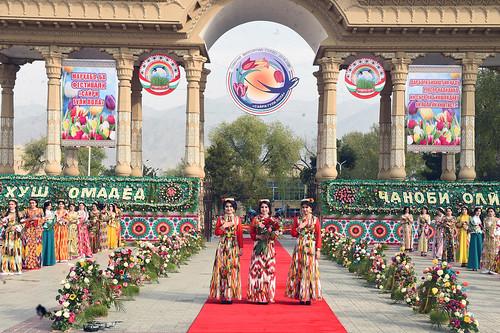Иштирок дар фестивали «Сайри гули лола» дар шаҳри Хуҷанд  02.04.2019