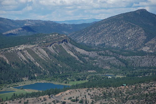 View from Pueblo Trail. From History Comes Alive at Chimney Rock National Monument